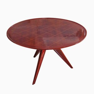 Art Deco Style Rosewood Coffee Table, 1940s