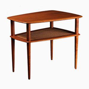 Table d'Appoint en Teck par Peter Hvidt pour France & Søn, Danemark, 1950s