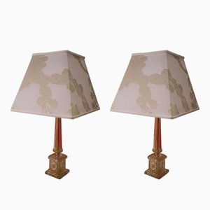 Table Lamps by Barovier and Toso, 1960s, Set of 2