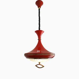 Vintage Hanging Diabolo Pendant Lamp, 1960s