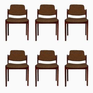 Chaises de Lübke, 1960s, Set de 6