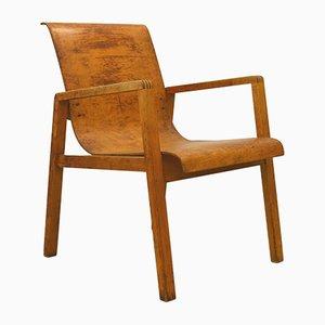 Sedia 403 in legno di betulla di Alvar Aalto per Huonekalu-ja Rakennustyöte, anni '30