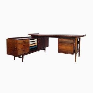 Schreibtisch von Arne Vodder für Sibast, 1950er