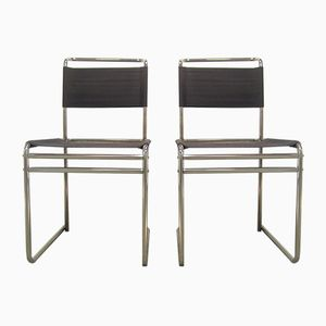 B5 Eisengarn Chairs by Marcel Breuer for Tecta, 1980s, Set of 2