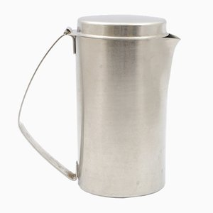 Stainless Steel Jug by Christa Petroff-Bohne for VEB Auer Besteck und Silberwarenwerke, 1960s