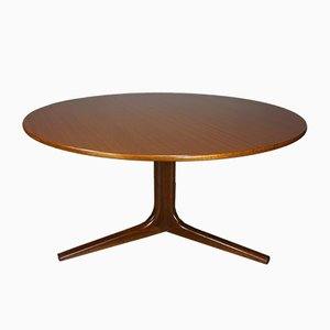 Round Teak Coffee Table, 1960s