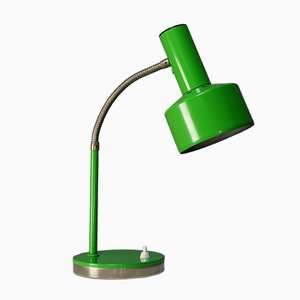 Mid-Century Green Metal Articulated Lamp, 1960s