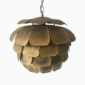 Lámpara colgante Artichoke Mid-Century de Holm Sørensen & Co, años 60