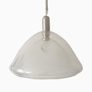Luz colgante Mid-Century de cristal de Murano de Carlo Nason para Mazzega, años 60