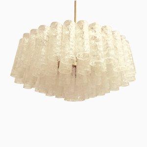 Lámpara de araña alemana vintage de Doria Leuchten, años 70