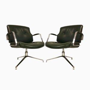 FK-84 Stühle von Kastholm & Fabricius für Kill International, 1960er, 2er Set