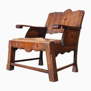 Antiker Armlehnstuhl