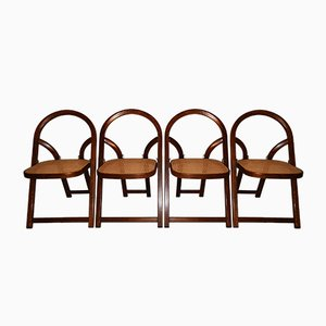 Arca Chairs by Gigi Sabadin for Crassevig, 1974, Set of 4