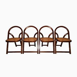 Arca Stühle von Gigi Sabadin für Crassevig, 1974, 4er Set