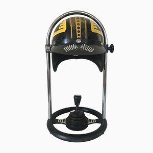 Lámpara casco de FF Leuchten, años 70