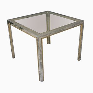 Vintage Square Dining Table by Romeo Rega