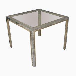 Vintage Square Dining Table by Romeo Rega