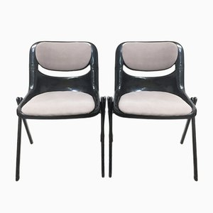 Dorsal Chairs by Ambasz & Piretti for Openark, 1990s, Set of 2