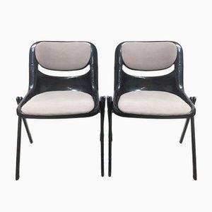 Dorsal Chairs by Ambasz & Piretti for Openark, 1990s, Set of 2