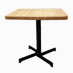 Tavolo quadrato di Charlotte Perriand, anni '60