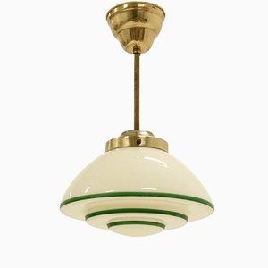 Lámpara colgante escandinava, años 50
