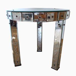 Mirrored Coffee Table from Fontana Arte, 1950s