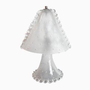 Murano Glas Tischlampe, 1950er