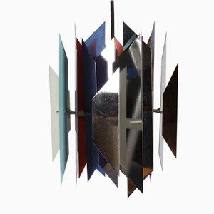 Lampada a sospensione vintage di Simon P. Henningsen per Lyfa
