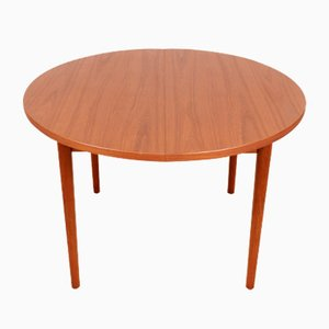 Scandinavian Round Dining Table by Nils Jonsson for Hugo Troeds, 1960s