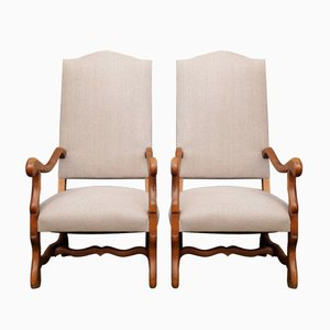 Os De Mouton Chairs, 1940s, Set of 2