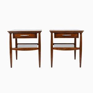 Tables d'Appoint Modernes Mid-Century, Set de 2