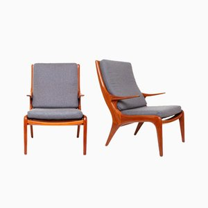 Armchairs by Vladimir Kagan, 1950s, Set of 2
