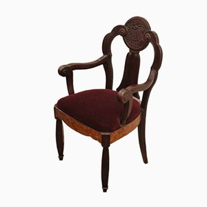 Vintage French Armchair by Maurice Dufrene, 1920s