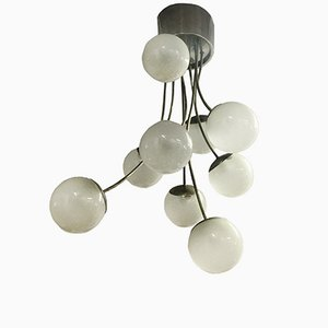 Vintage Italian Chandelier by Pia Guidetti Crippa for Lumi Milano