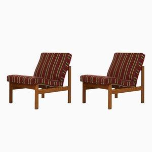 Moduline Lounge Chairs by Ole Gjerløv-Knudsen for France & Søn, 1962, Set of 2
