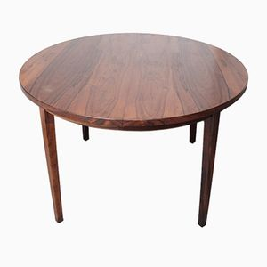 Rosewood Extendable Dining Table, 1950s