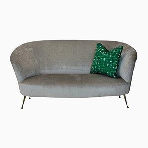 Gebogenes Mid-Century Sofa von Ico & Luisa Parisi