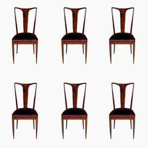 Mid-Century Dining Chairs By Ulrich, Set of 6