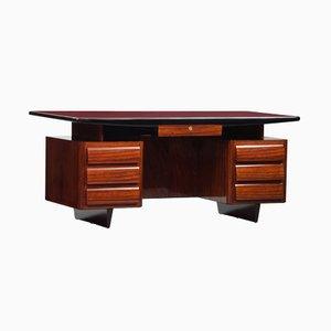 Lackierter Vintage Palisander Schreibtisch von Vittorio Dassi