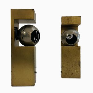 Lampes de Bureau par Angelo Lelli pour Arredoluce, 1960s, Set de 2