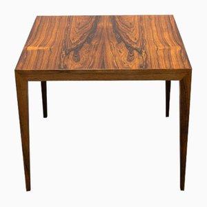 Table d'Appoint en Placage de Palissandre par Severin Hansen Jr. pour Haslev Møbelsnedkeri, 1950s