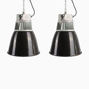 Lampe à Suspension Industrielle de Elektrosvit, 1960s