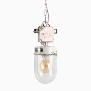 Lampe à Suspension Industrielle 7010 d'Elektrosvit, années 60