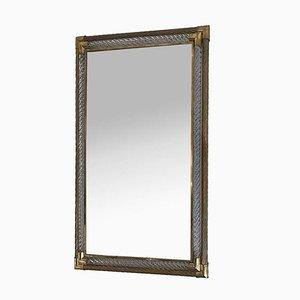 Large Rectangular Murano Mirror from Barovier e Toso, 1960s