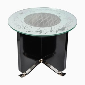 Table Basse Lumineuse Art Deco