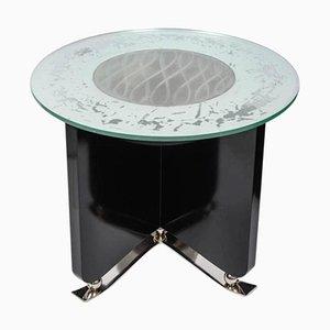 Tavolino da caffè Art Deco illuminato