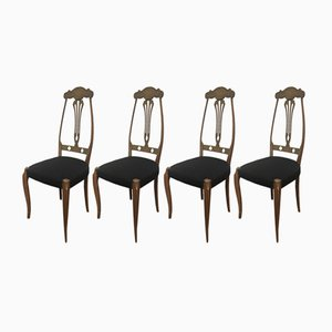 Chairs, 1930s, Set of 4