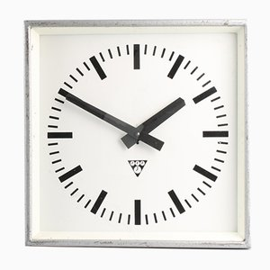 Vintage C 301 Industrial Clock from Pragotron