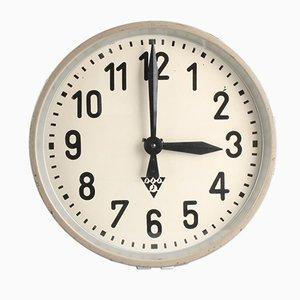 Horloge PJ 30 Industrielle de Pragotron, 1950s