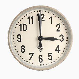 Reloj PJ 30 industrial de Pragotron, años 50